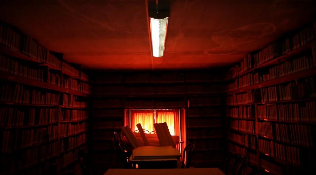 La salle Boulay de la Meuthe le samedi (photogramme tiré de la vidéo)