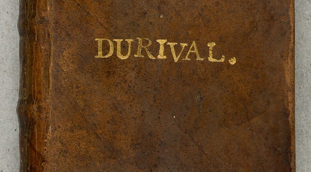 Super-libris de Nicolas Durival