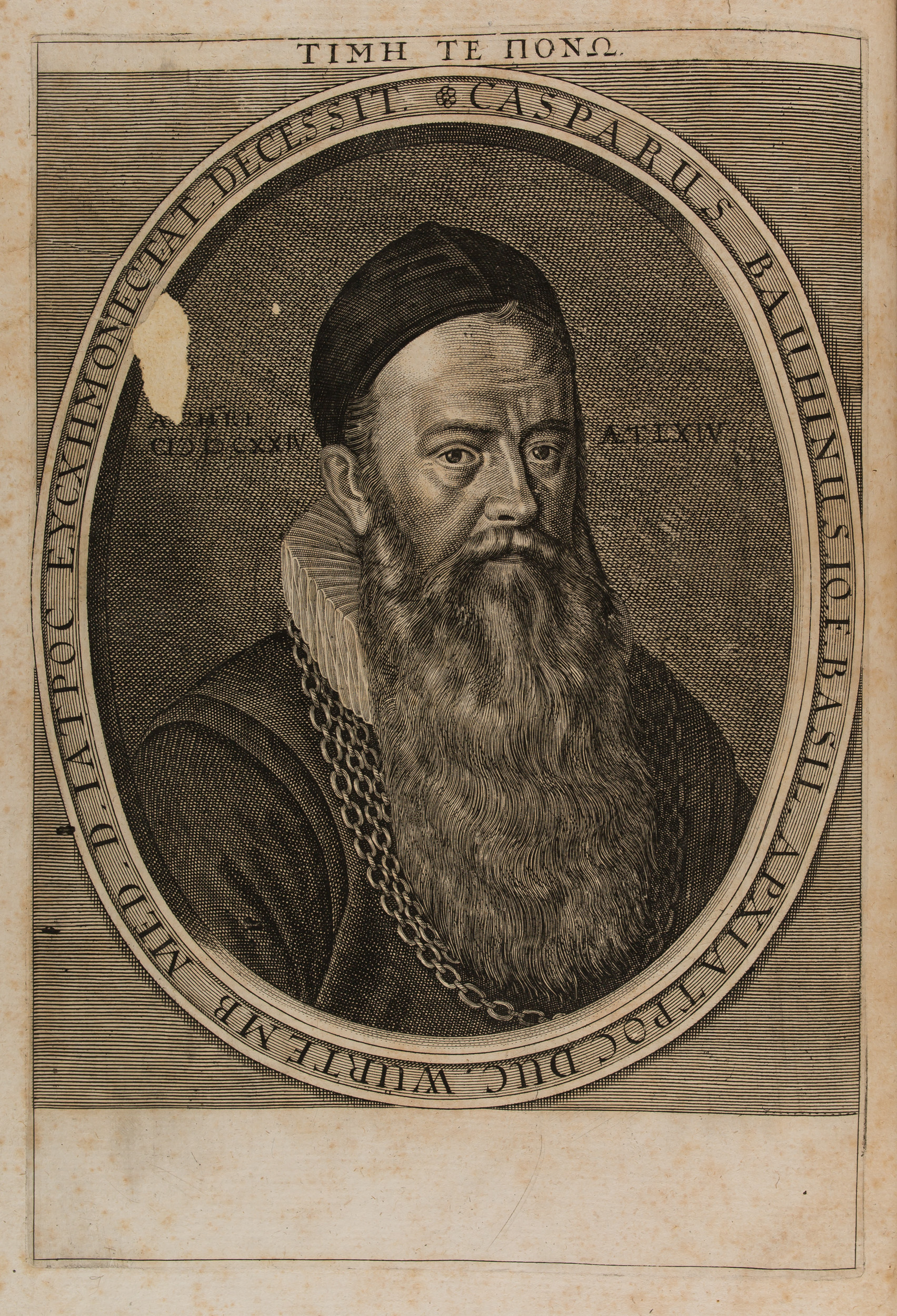 Portrait de Gaspard Bauhin, 1658 (100 737)
