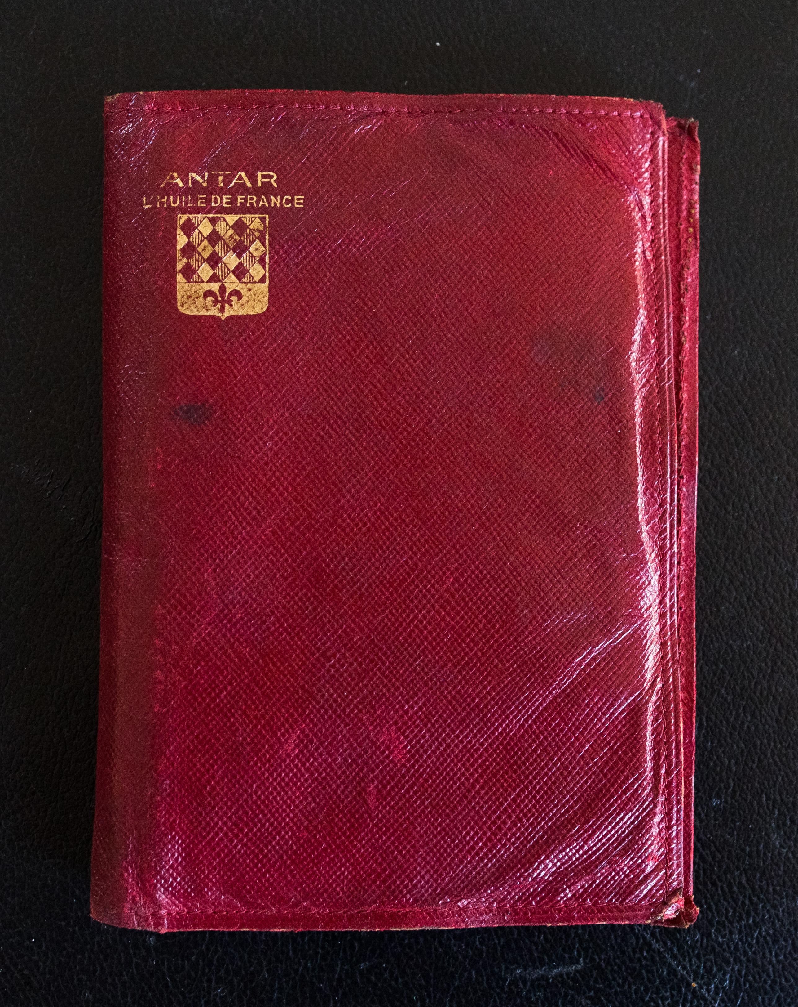 porte-carte rouge
