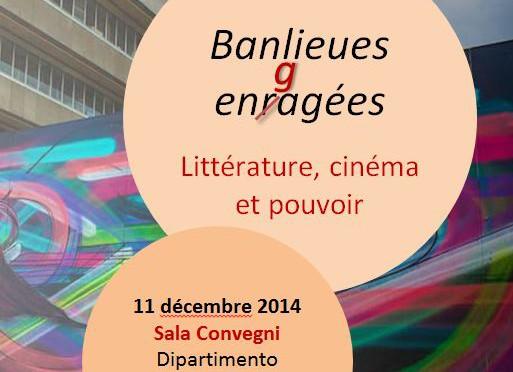 Journée d'études / One Day Conference  Banlieues engagées. Littérature, cinéma et pouvoir