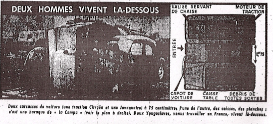 France-Soir, article « Bidonvilles », Maurice Josco, 23 octobre 1965