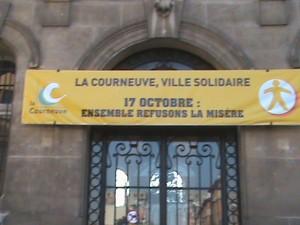 Journée mondiale du refus de la misère à la Courneuve