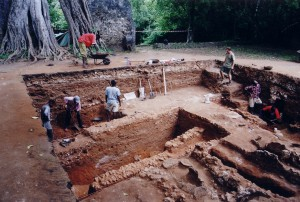 Excavations Great Mosque Gedi