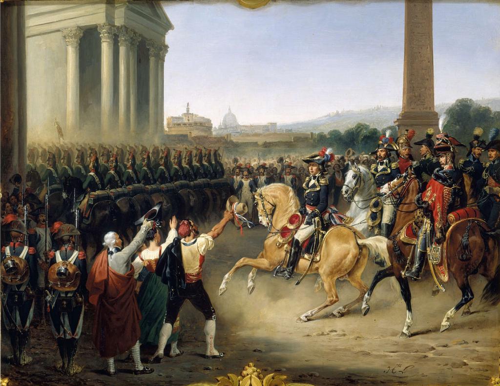 Entrée_de_l'Armée_française_à_Rome_-_Hippolyte_Lecomte