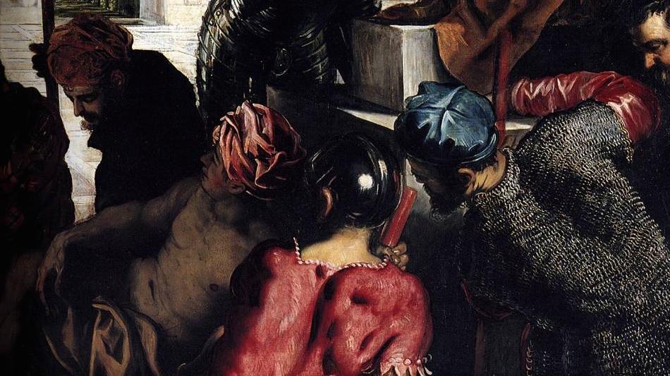 Tintoret, Miracle de saint Marc libérant un esclave (détail), 1548, Galleria dell'Academia, Venise (Italie)