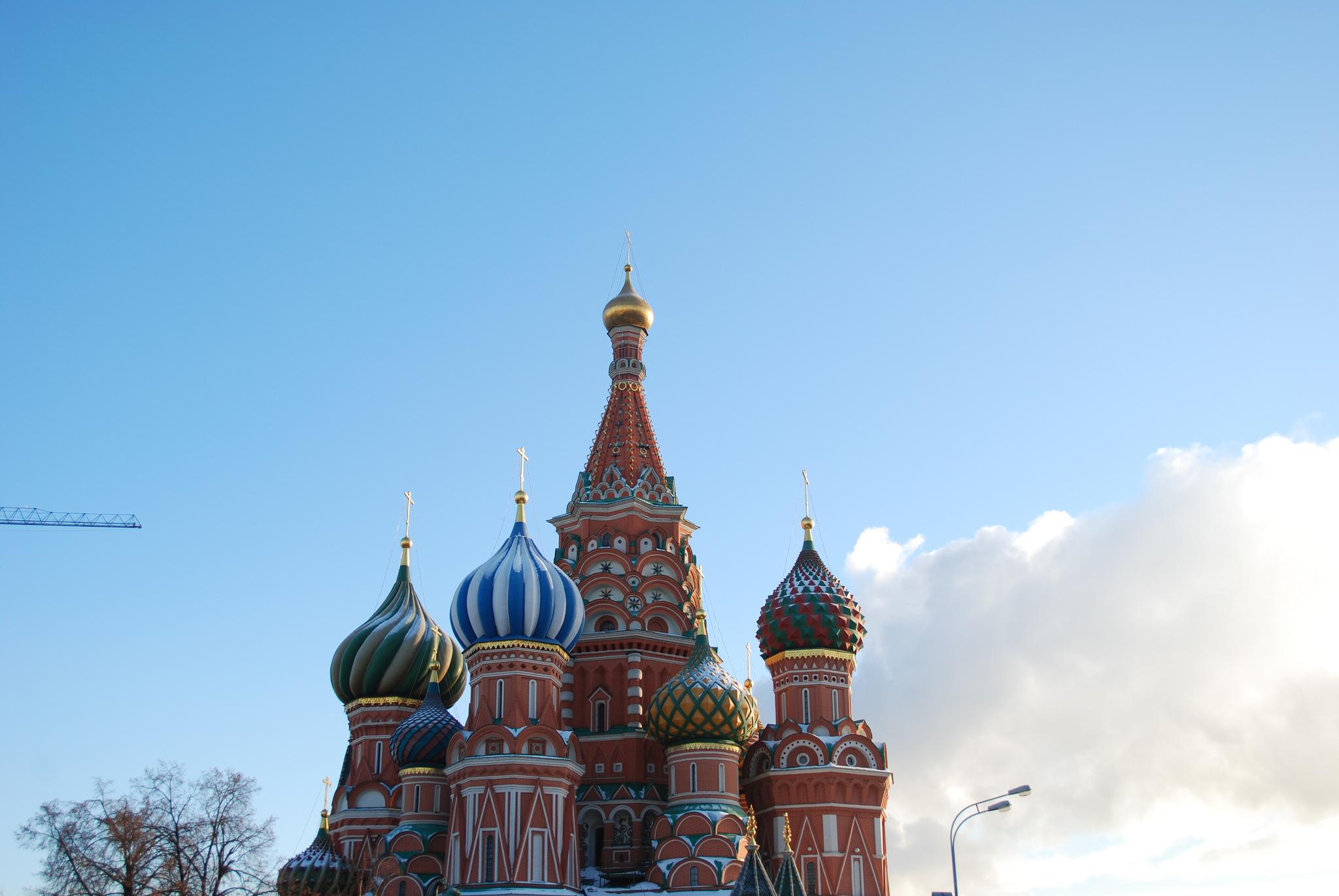 Cathédrale saint-Basile, Moscou (Fédération de Russie), photo de George M. Groutas sur Flickr, 2012