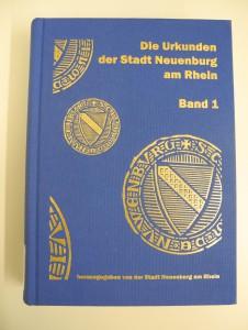 Die Urkunden der Stadt Neuenburg am Rhein
