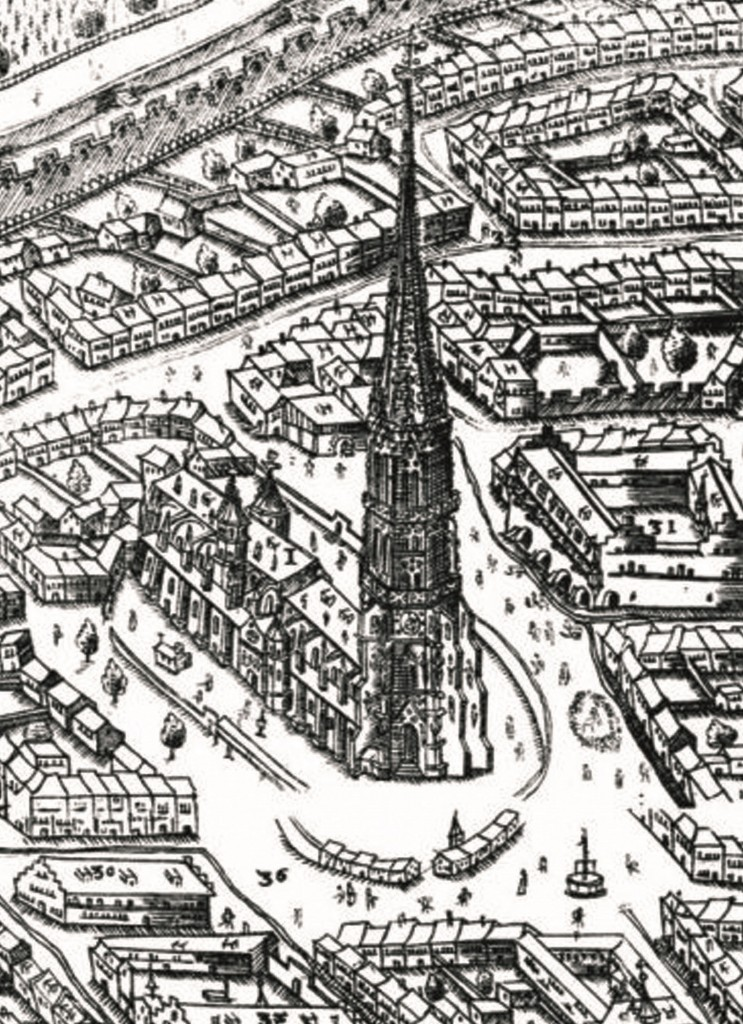Großer Sickinger Plan (1589) - Ausschnitt