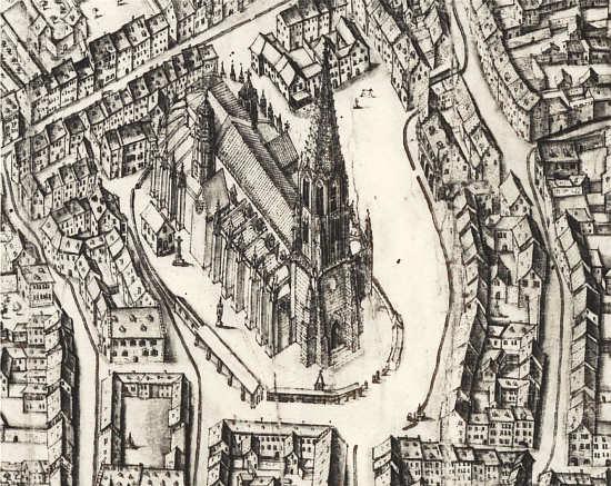 Pergamentplan (1685)