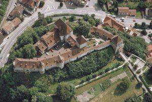 Schloss Burgdorf, ein Bau Bertholds V. von Zähringen, © Archäologischer Dienst des Kantons Bern, Patrick Nagy.