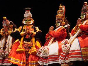 Krishnanattam (théâtre rituel du Kerala) / Jean-Pierre Dalbéra
