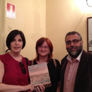 Dolores Romero, Ana García Serrano y Fernando Cobos