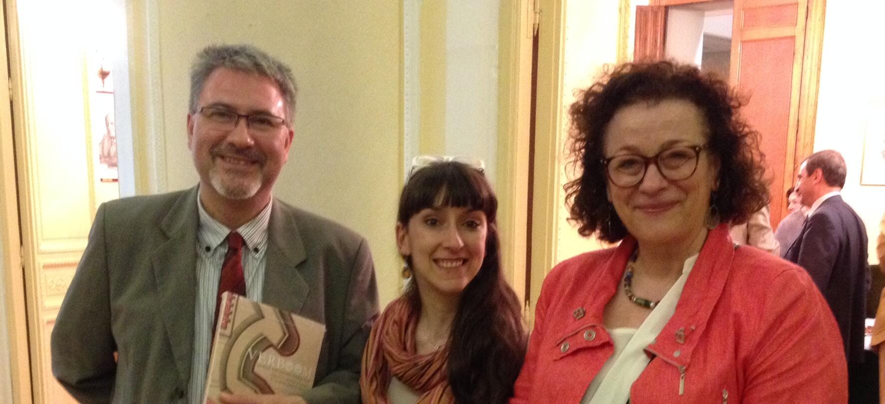 Juan Miguel Muños Corbalán, Margarita Vázquez y Alicia Cámara