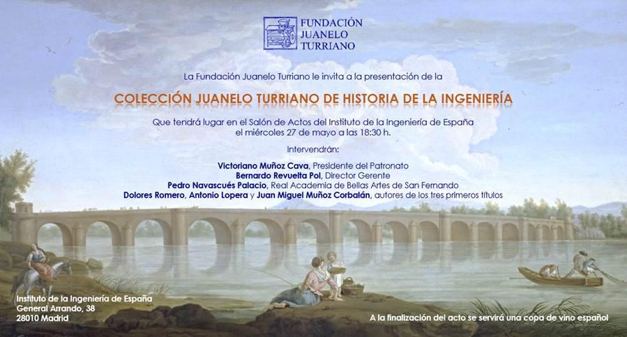 invitación presentación colección Juanelo Turriano (2)