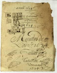 Les archives notariales du Val d'Oise (France)