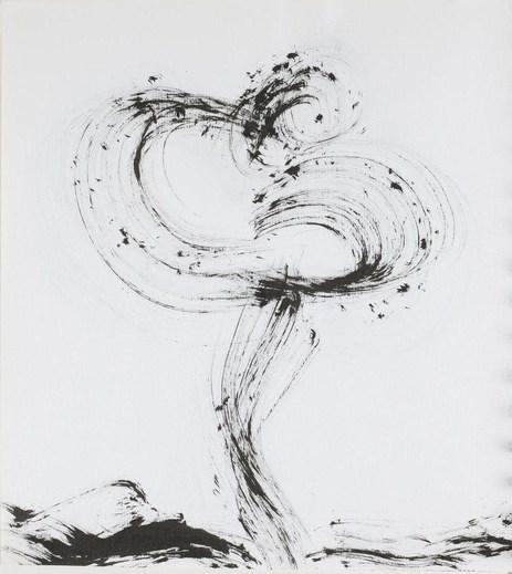 Carlson, Carolyn (1943-….), Fonds Carolyn Carlson. III. Carnets et cahiers de notes. III.5. Années 2000. Poèmes et dessins, 2005-2008. (Détail). BnF