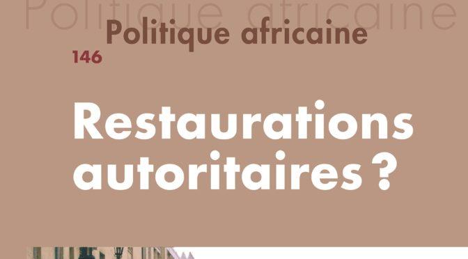 Les débats de Politique Africaine #1