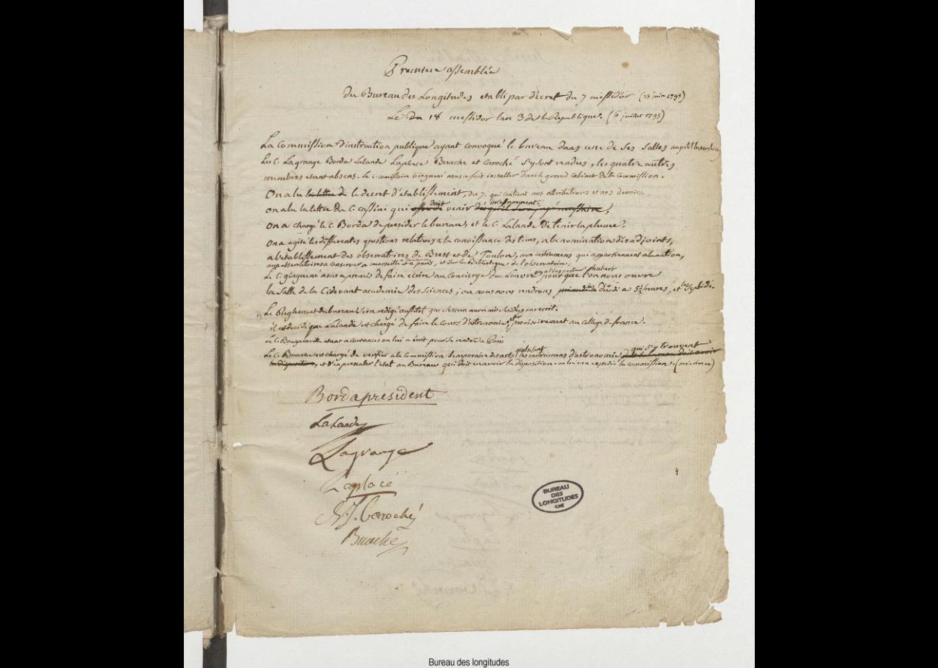 2 mars le projet bureau des longitudes 1795 1932 de la valorisation du patrimoine la. Black Bedroom Furniture Sets. Home Design Ideas