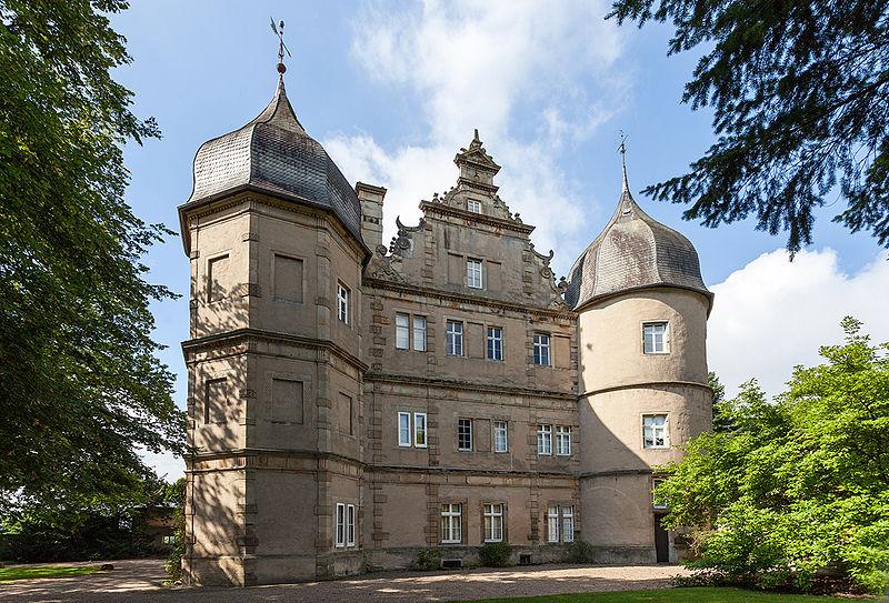 Schloss Barntrup, Lippe, Ostseite