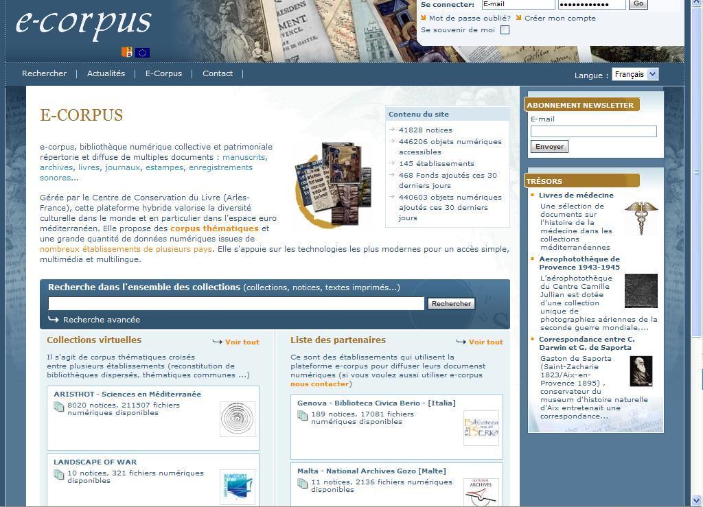 E-Corpus