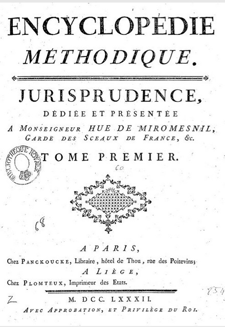 Encyclopedie-methodique-Jurisprudence