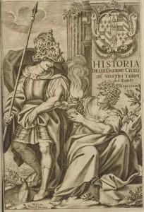 Bisaccioni Historia delle guerre civilis 1653 Titelblatt