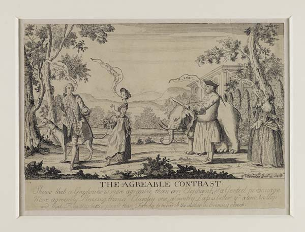 The agreeable Contrast_Bonnie Prince Charlie and Duke of Cumberland_Jacobite Prints_Scottish National Archives