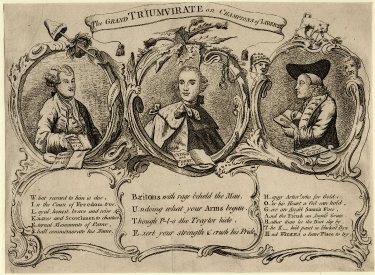 The Grand Triumvirate 1763