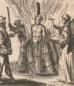 Dutch print_burning at the stake_detail