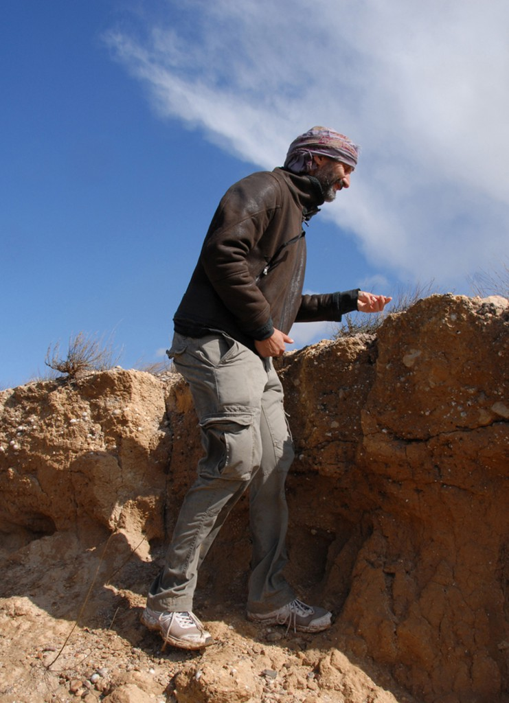 Amas coquiller à proximité de l'oued Jilf-Maarouf
