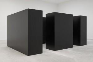 """Tony Smith, """"Maze,"""" 1967, painted steel"""