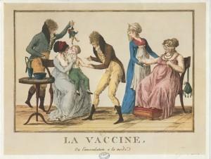 « La vaccine ou l'inoculation à la mode  », s.d. (source : 2.biusante.parisdescartes.fr)