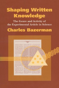 Glisser des mots qui claquent dans les articles, buzziness as usual ? Pour une analyse  toujours pertinente, voir Charles Bazerman, Shaping Written Knowledge. The Genre and Activity of the Experimental Article in Science, Madison, University of Wisconsin Press, 1988