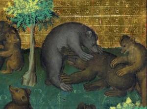 Gaston Phoebus, Le Livre de la chasse, Paris ca. 1407 (crédits : http://discardingimages.tumblr.com/)