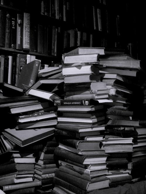 Sous les pavés, la page ? Librairie Shakespeare and Company, à Paris (crédits : Evan Bench 2007, via Flickr)