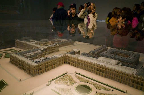 Versailles sous cloche (crédits : Daisuke Sakai, 2015, via Flickr)
