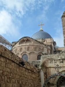 Grabeskirche in Jerusalem (Foto: Michael Hölscher, CC BY-NC-SA 4.0)