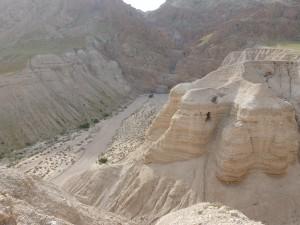 Qumran, Höhle 4 (Foto: M. Hölscher)