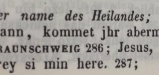 Art. Jesus aus dem Deutschen Wörterbuch von Jacob und Wilhelm Grimm, Bd. 10 (1877/1984), Sp. 2313.