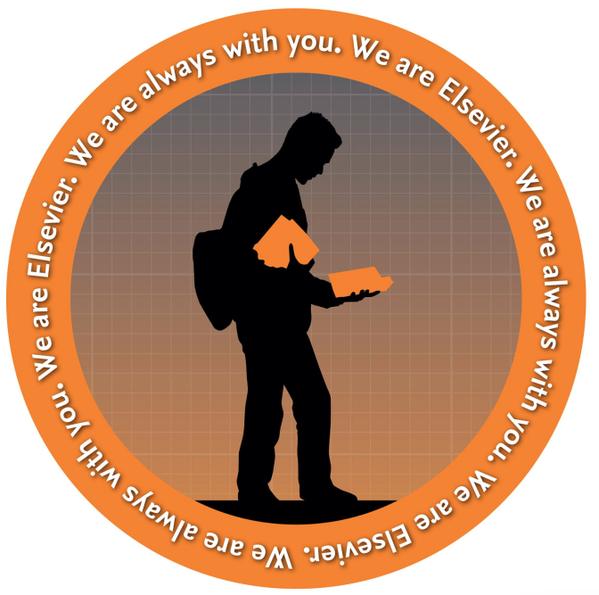 Un logo « marketing» d'Elsevier, bien évocateur de son emprise monopolistique…