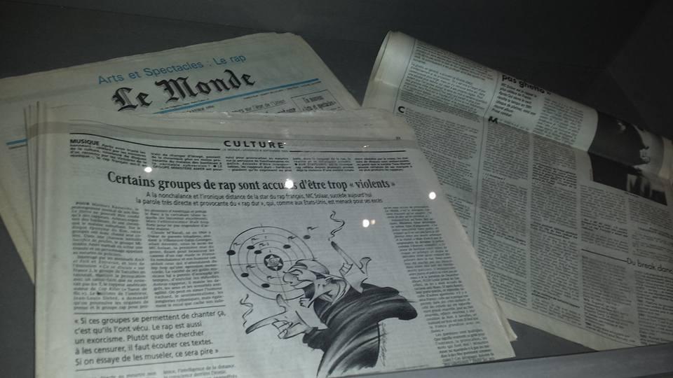 Le Monde, janvier 1994. Merci à Keira Maameri pour la photo.