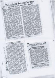 Zeitungsartikel 1942 1