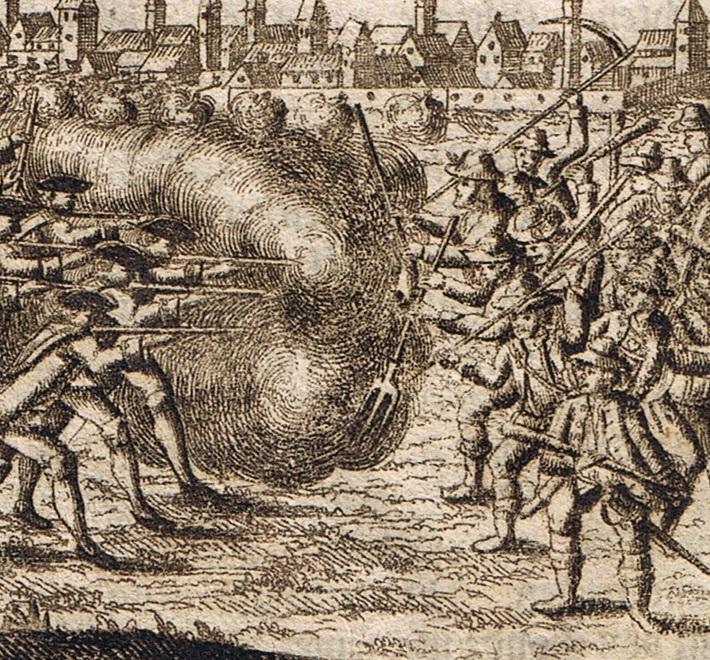 1761 kommt es in Ostfriesland zu handfesten Auseinandersetzungen zwischen dem ehemals Fischerschen Freikorps und Bauern | Foto: Leonard Dorn