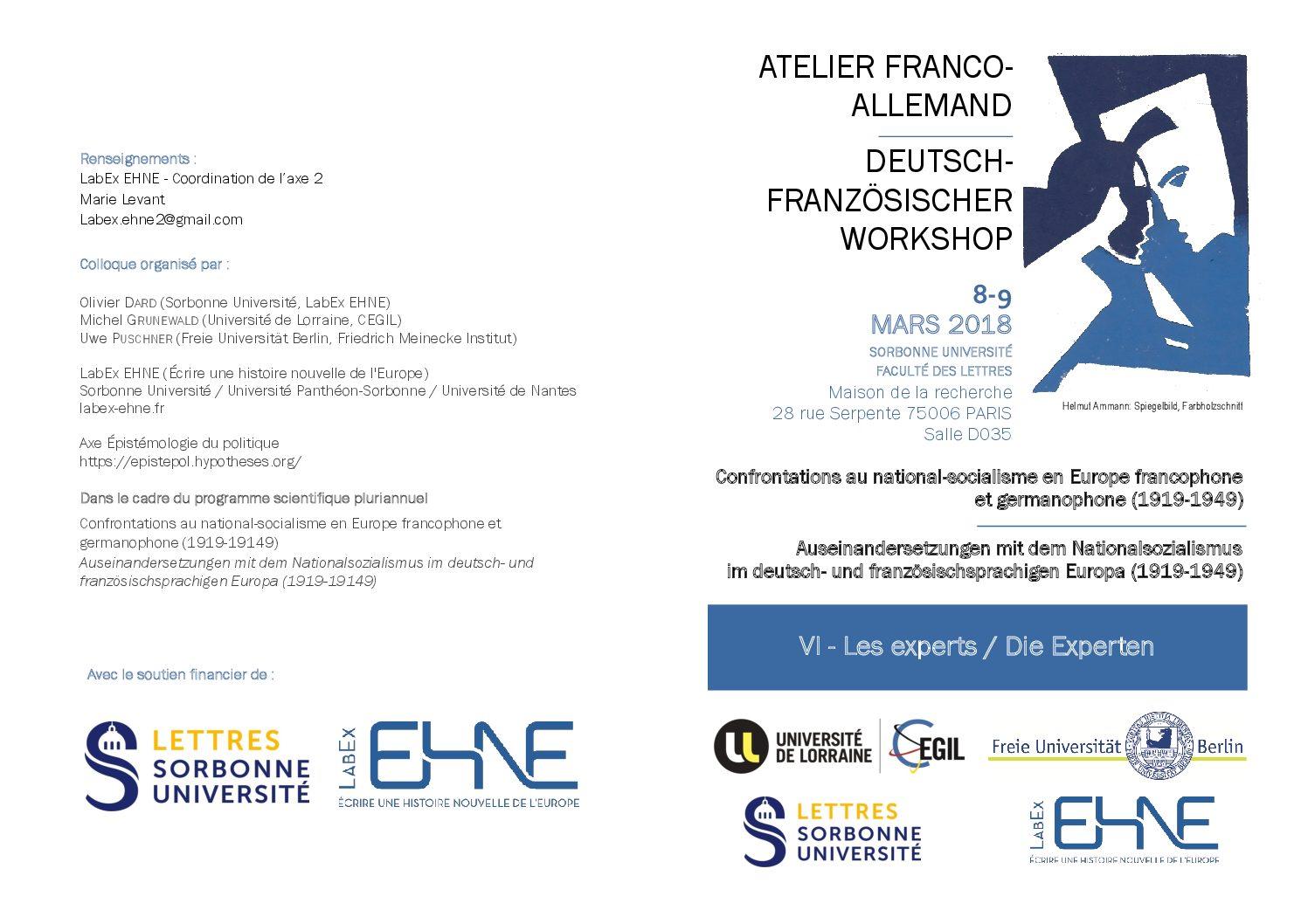 Atelier franco-allemand / Deutsch-Französischer Workshop