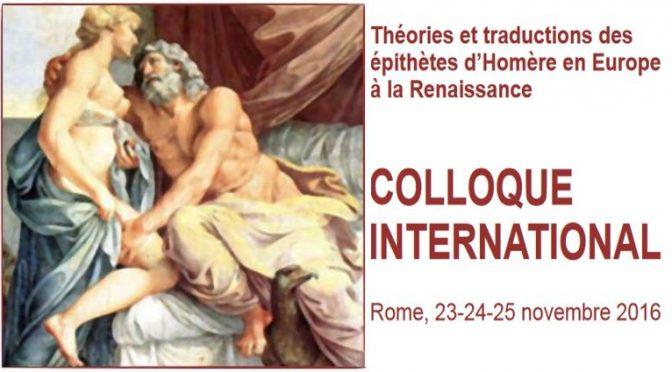 Le projet EDITEF à l'Institut Néerlandais de Rome