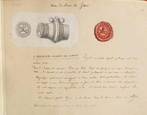 Sceau de Léon de Gavi (NAF 22020)