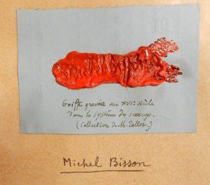 Griffe de Michel Bisson (NAF 22020)
