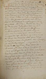 BnF, ms. fr. 16270, fol. 87-88. « Procès verbal de Me Amelot touchant la fabrication d'un nouveau seau pour la chancellerie de Paris après la mort du Roy Louis 13 ».