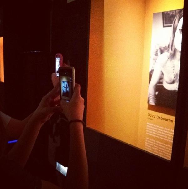 Handys im Museum, Foto: T.Nowak